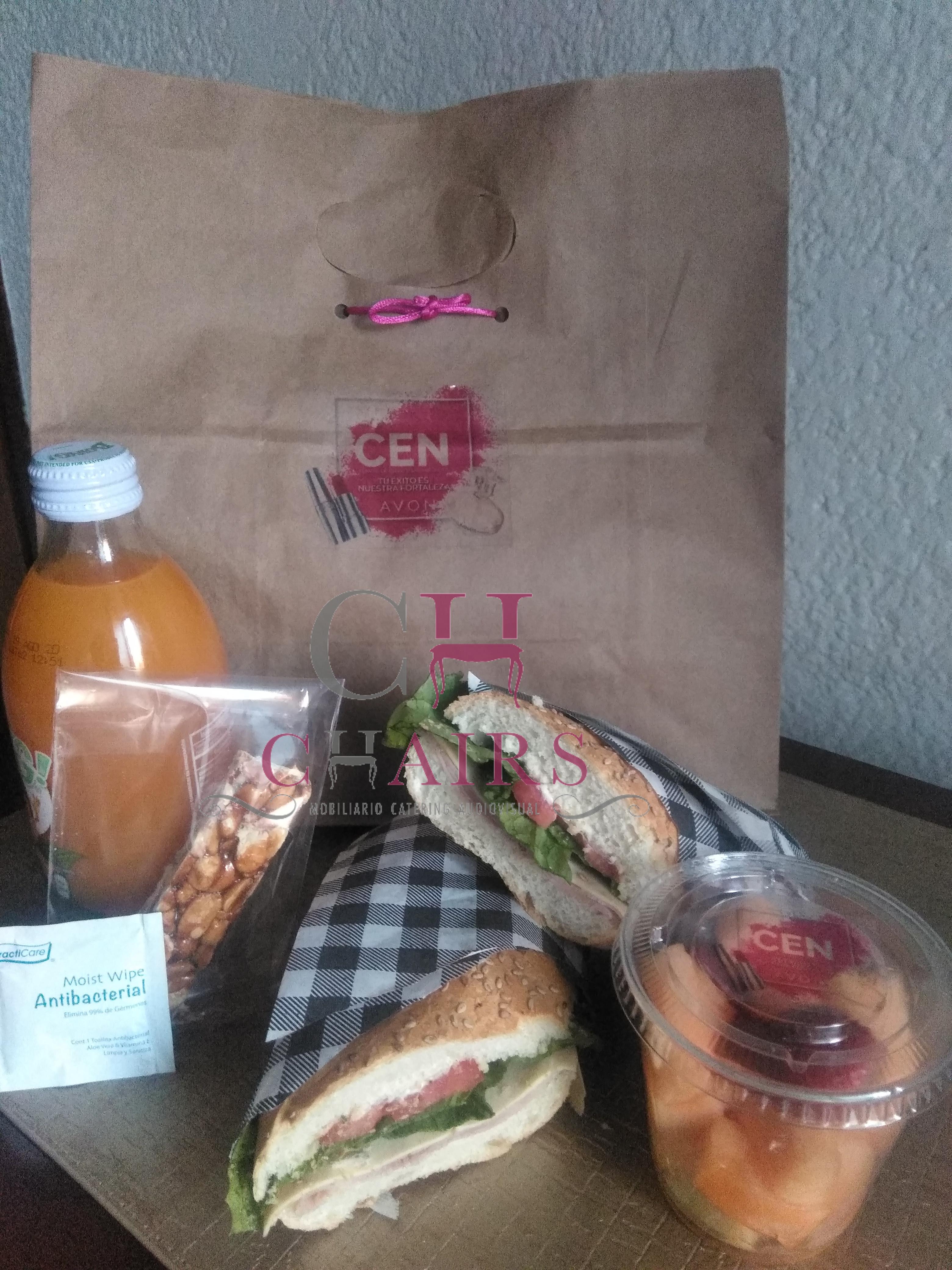 Box Lunch para eventos